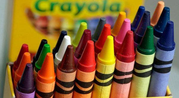 how to clean crayon stains