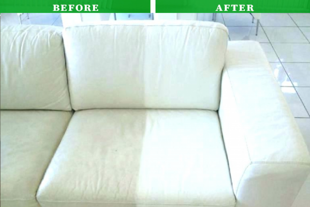 How To Clean Leather White Sofa