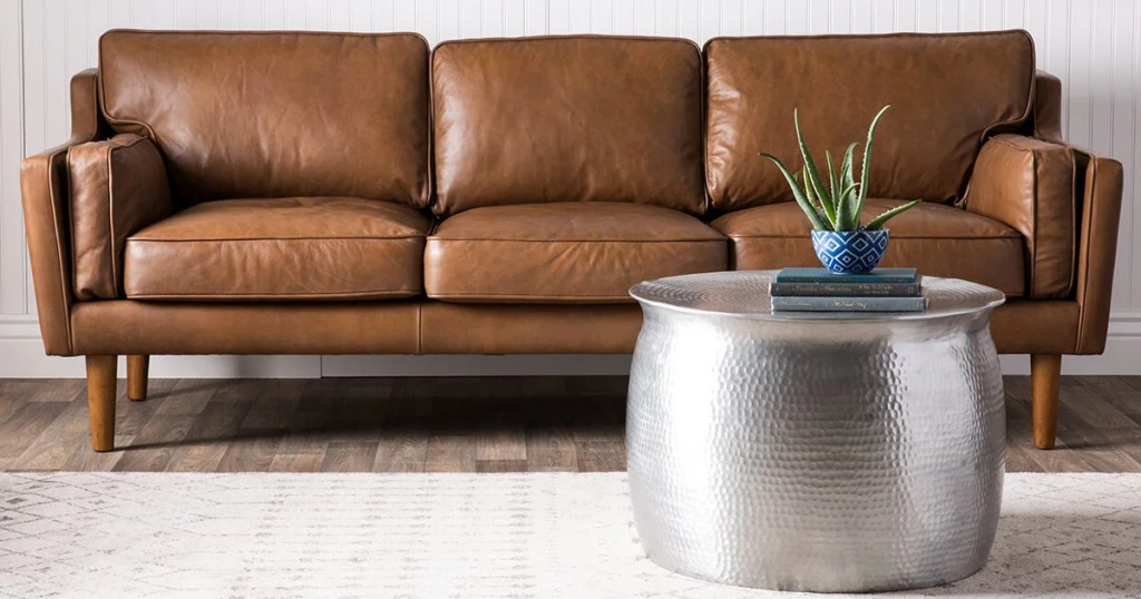 How To Avoid Stains On Leather Sofa?